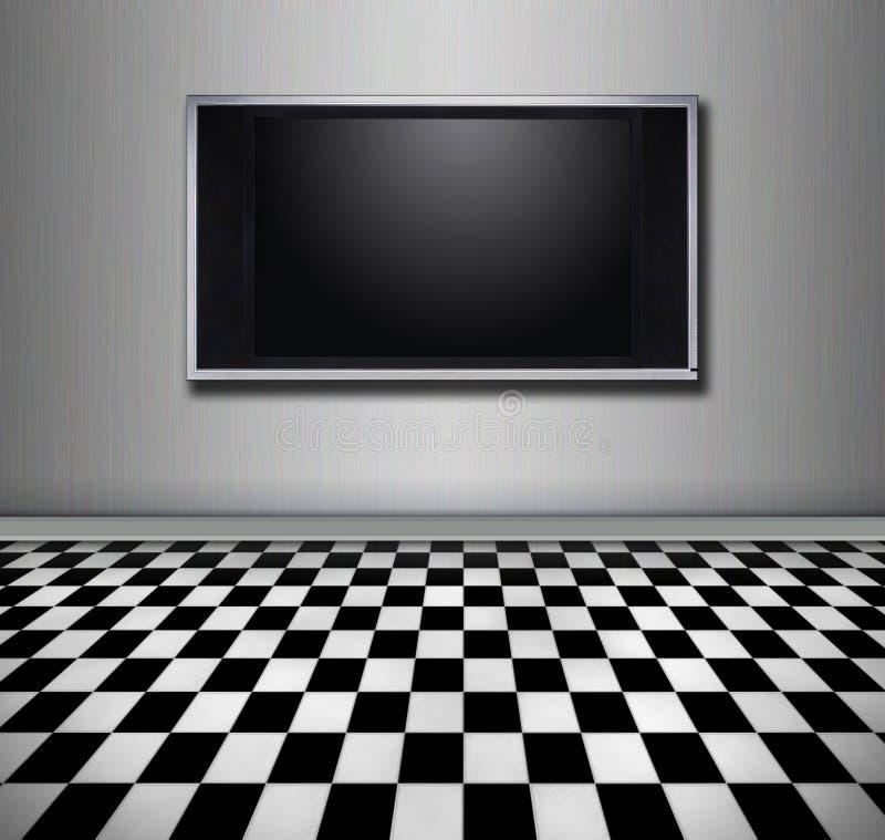 Vlakke het schermTV