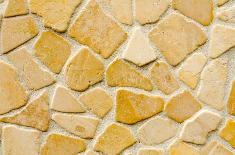 Vlakke van de steenmuur textuur als achtergrond royalty-vrije stock afbeelding