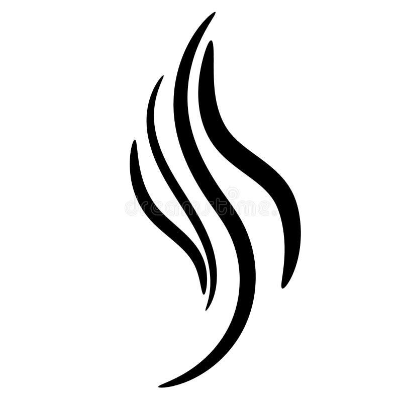Vlam graaft de vectoreps getrokken Hand, Crafteroks, svg, vrij, vrij svgdossier, eps, dxf, vector, embleem, silhouet, pictogram,  vector illustratie