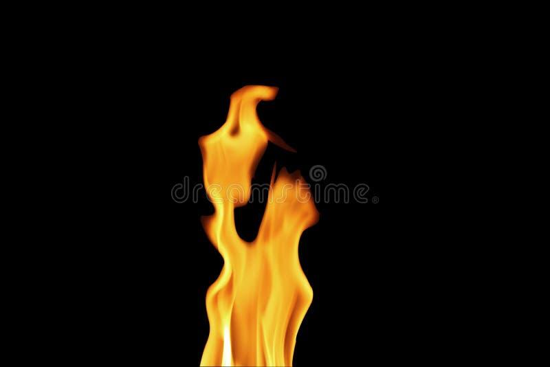Vlam hete warme blck als achtergrond royalty-vrije stock foto
