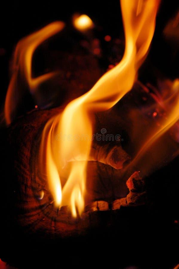 Vlam I van de brand royalty-vrije stock afbeelding