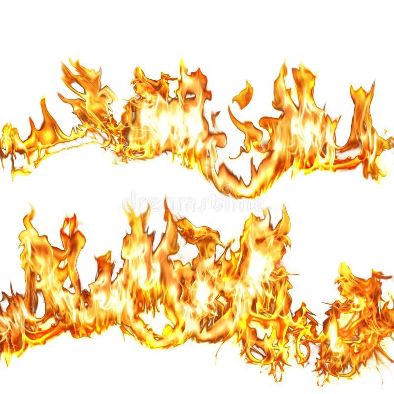 Vlammen 1 royalty-vrije illustratie