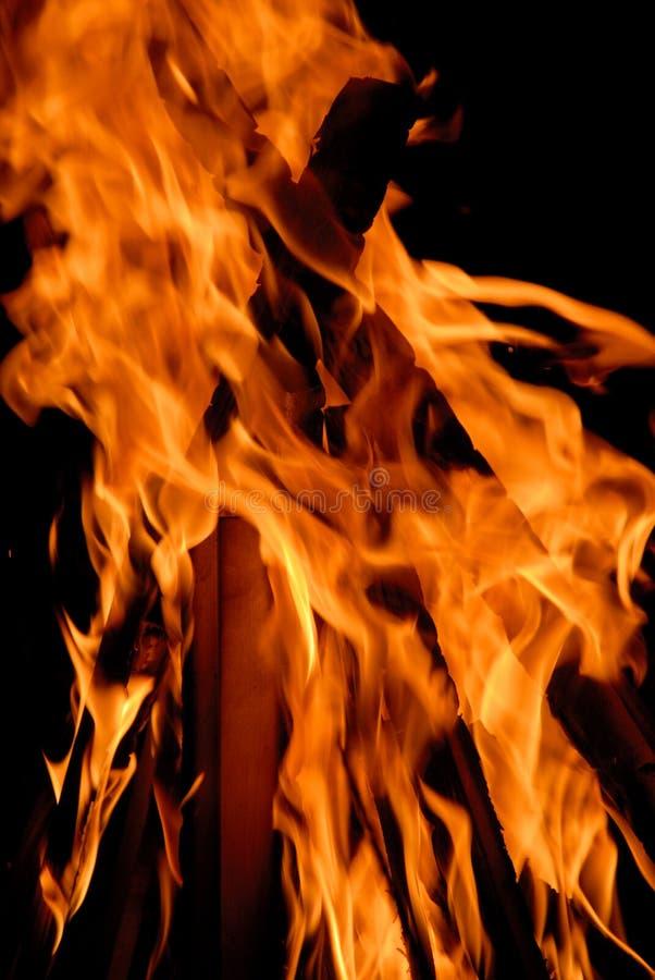 Vlammen stock foto's