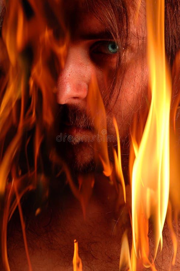 Vlammende demon