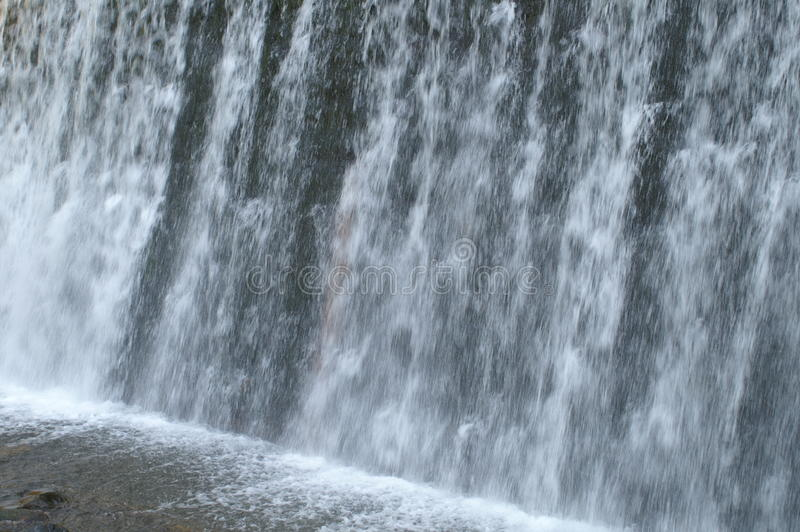 Vlasina de la cascada y del río fotos de archivo