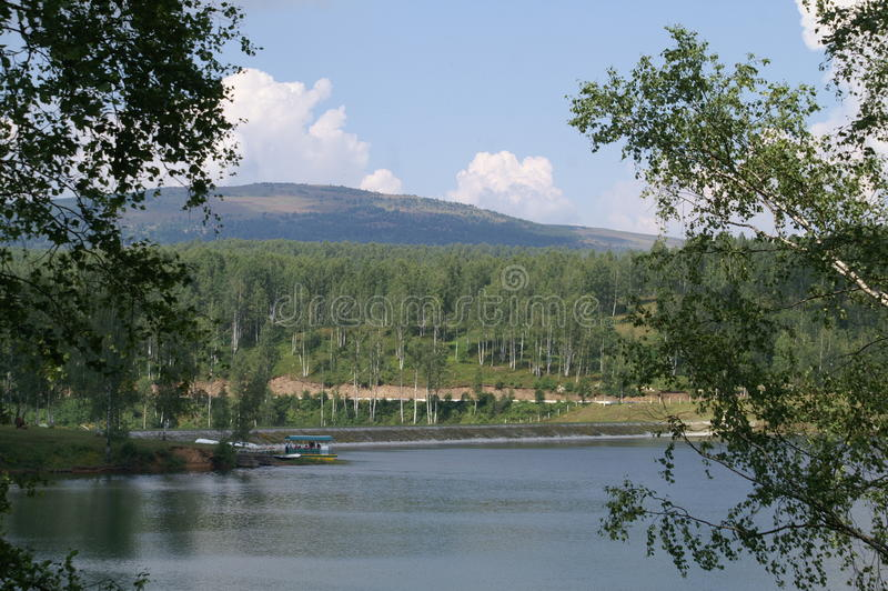 Vlasina 2015 del lago imagen de archivo