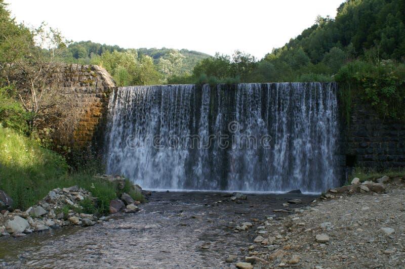 Vlasina del río de la cascada imagen de archivo