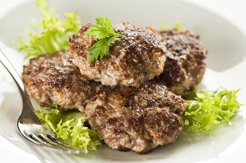 Vlees stock foto