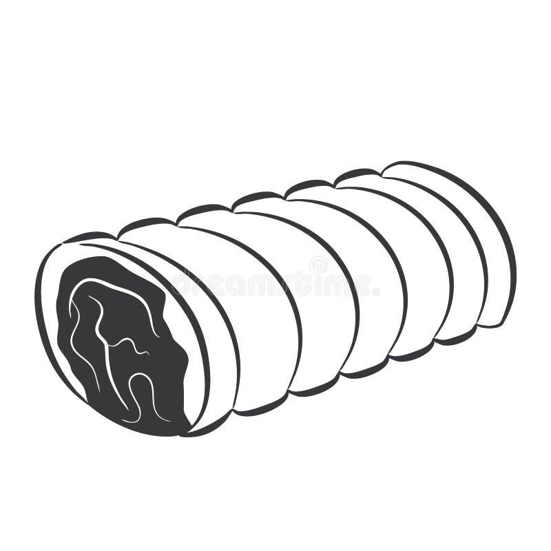 Vlees royalty-vrije illustratie
