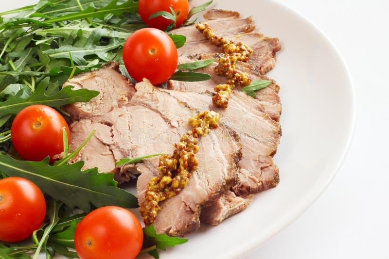 Vlees en groenten royalty-vrije stock fotografie
