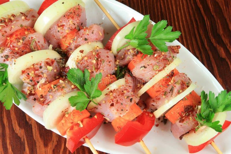 Vlees Op Stok Stock Afbeelding