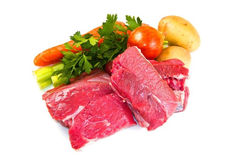 Download Vlees voor gekookt stock afbeelding. Afbeelding bestaande uit proteïne - 29511697