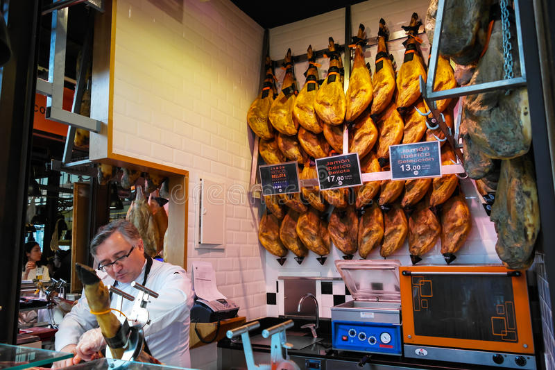Vlees voor verkoop royalty-vrije stock afbeeldingen