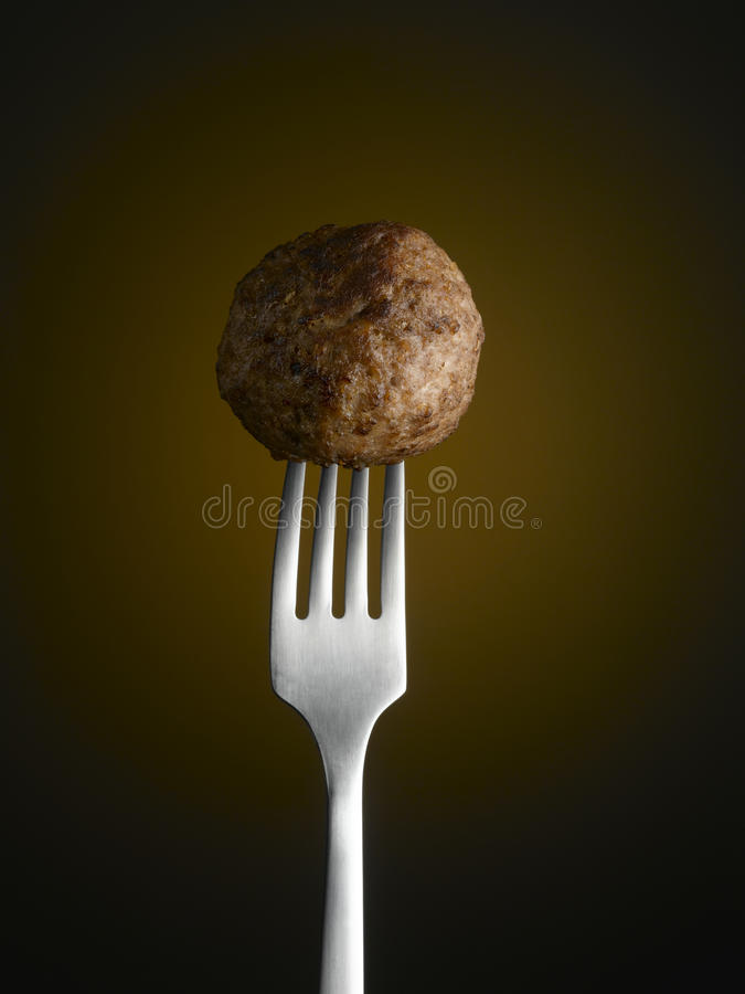 vleesballetje royalty-vrije stock afbeelding