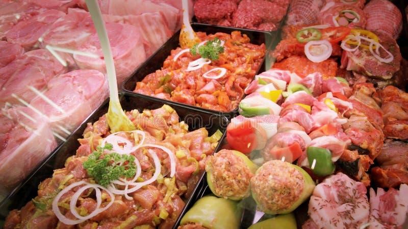 Vleeswaren stock fotografie