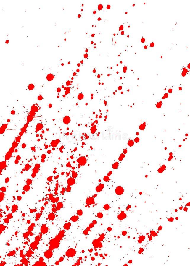Vlekken van bloed vector illustratie