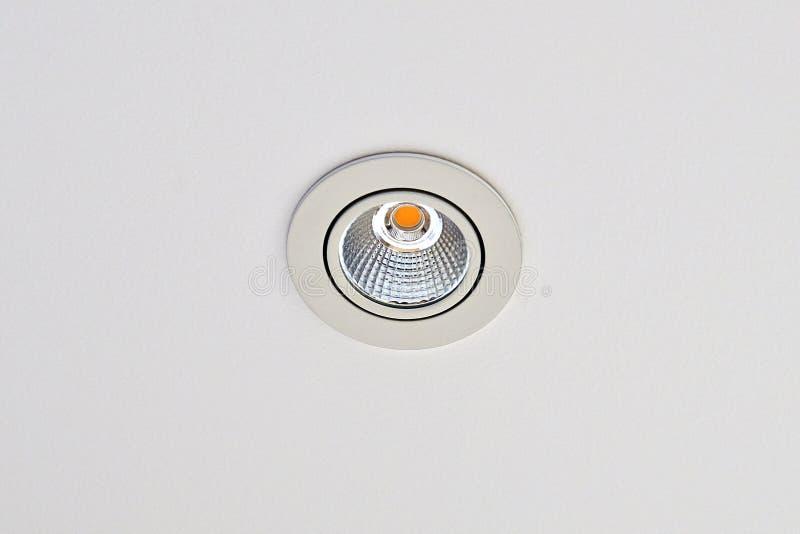 Vlekplafond Geleid Licht stock foto's