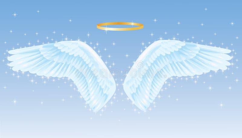 Vleugels. vector illustratie