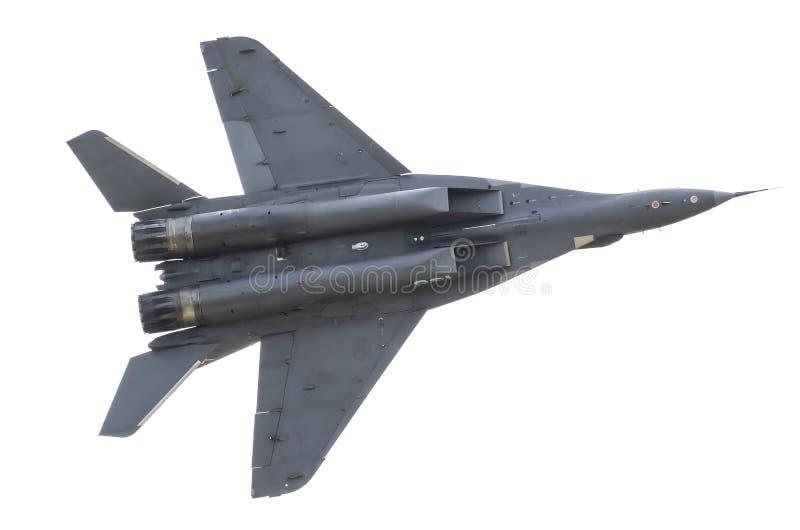 Vliegen van het vechters de militaire gevecht in de hemel stock fotografie