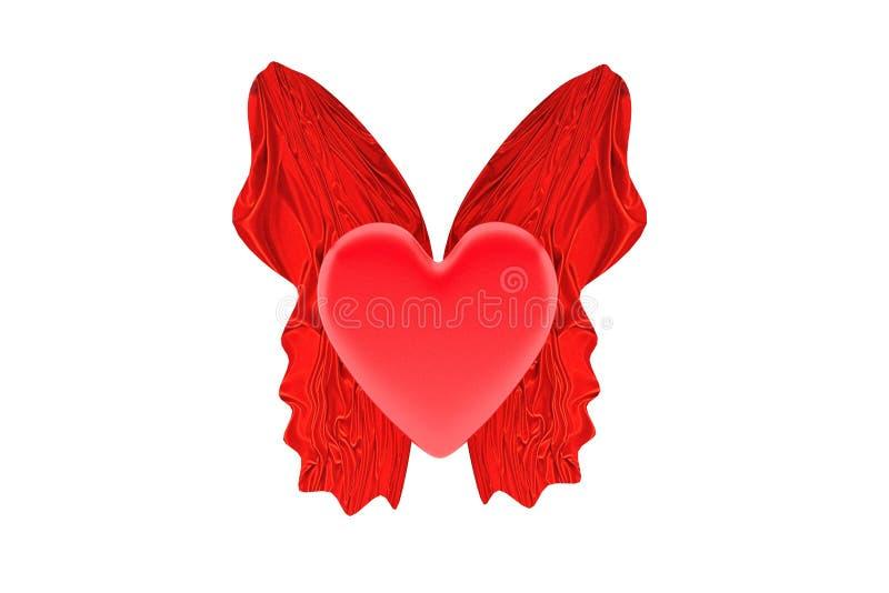 Vliegend hart stock foto's
