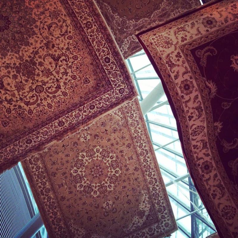 Vliegend tapijt stock fotografie