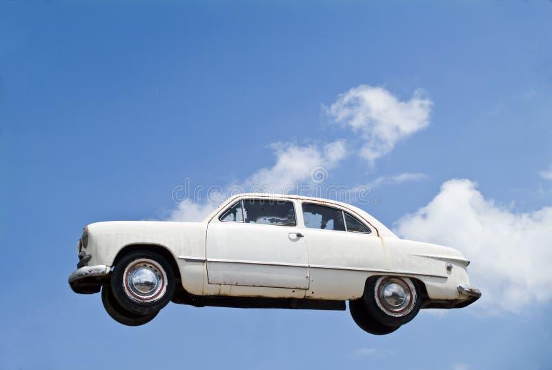 Vliegende Auto stock afbeeldingen