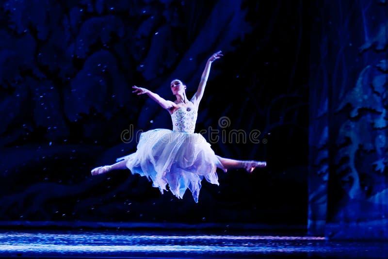 Vliegende Ballerina stock afbeeldingen