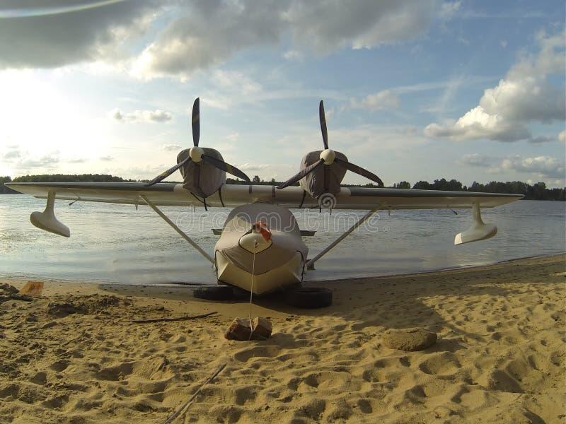 Vliegende Boot stock foto's