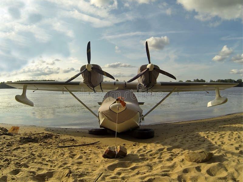 Vliegende Boot stock foto