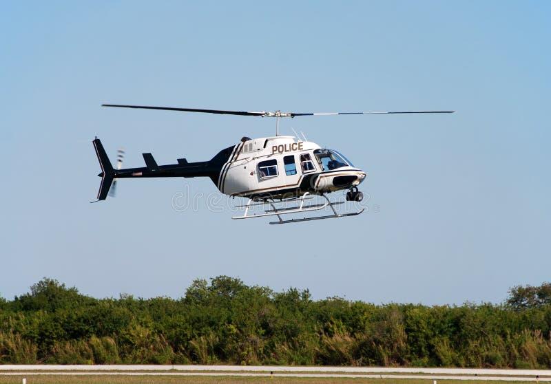 Vliegende helikopter stock foto's