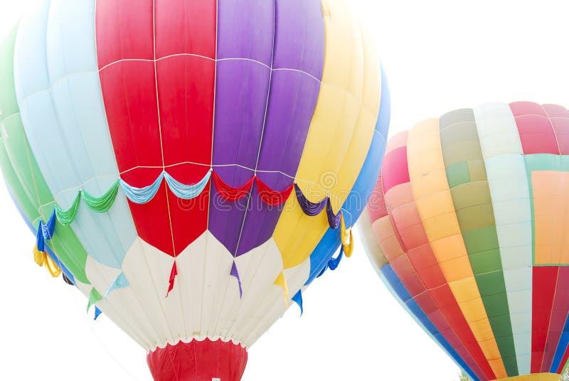 Vliegende Hete luchtballons royalty-vrije stock foto