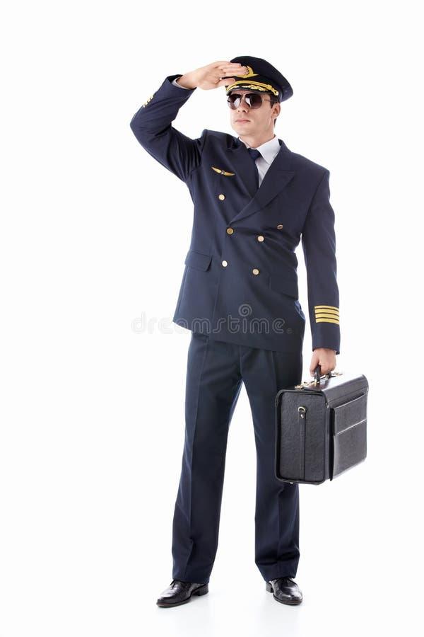 Vliegende mens royalty-vrije stock fotografie