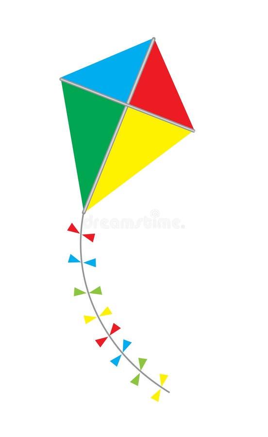 Vlieger vector illustratie