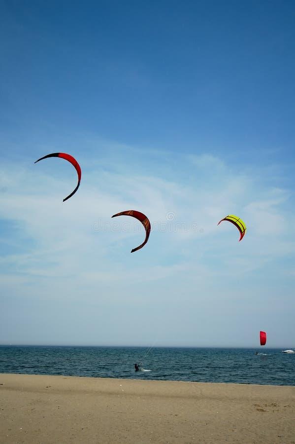 Vlieger die 3 surft royalty-vrije stock foto's