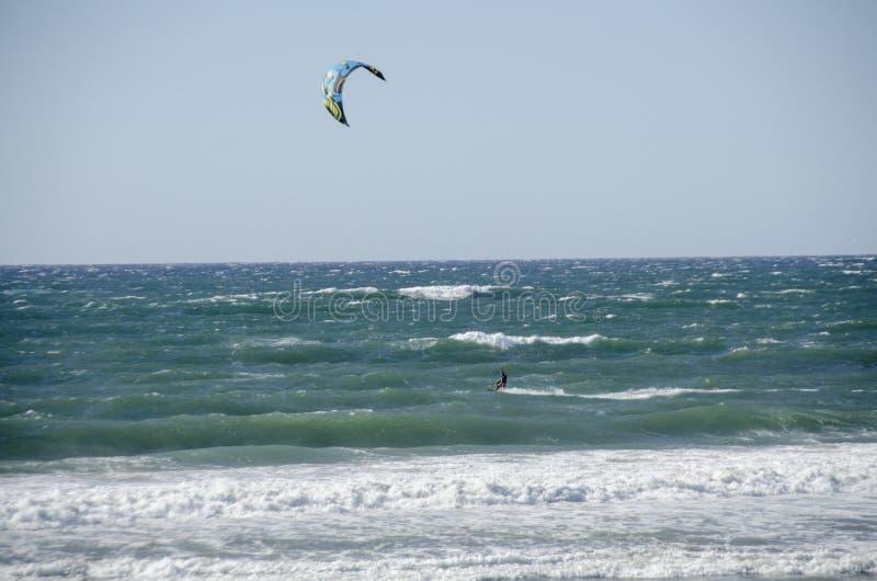 Vlieger het surfen stock afbeelding