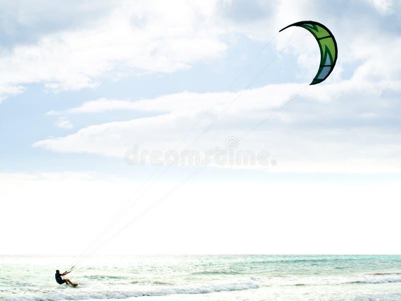 Vlieger Surfer royalty-vrije stock afbeelding