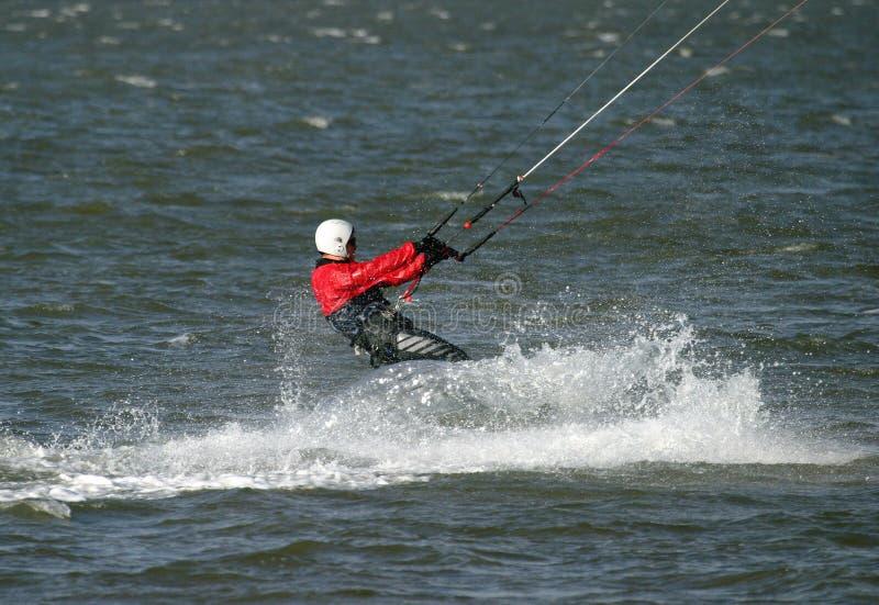 Vlieger Surfer royalty-vrije stock foto