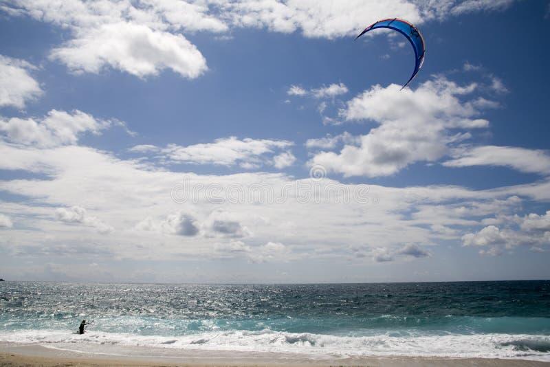Vlieger surfer stock afbeelding