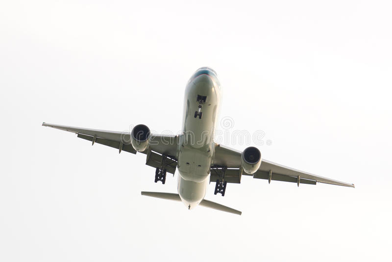 Vliegtuig stock fotografie