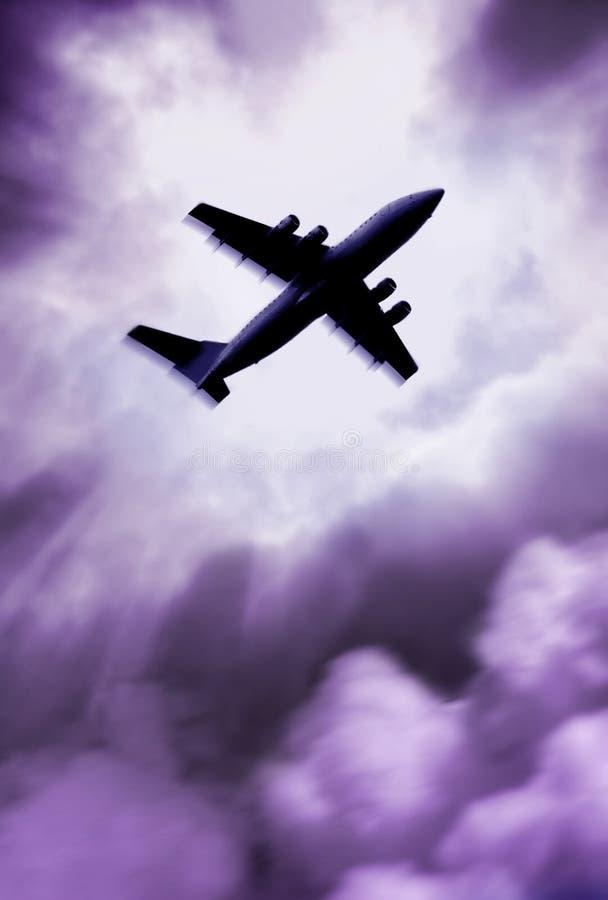 Vliegtuig stock foto's