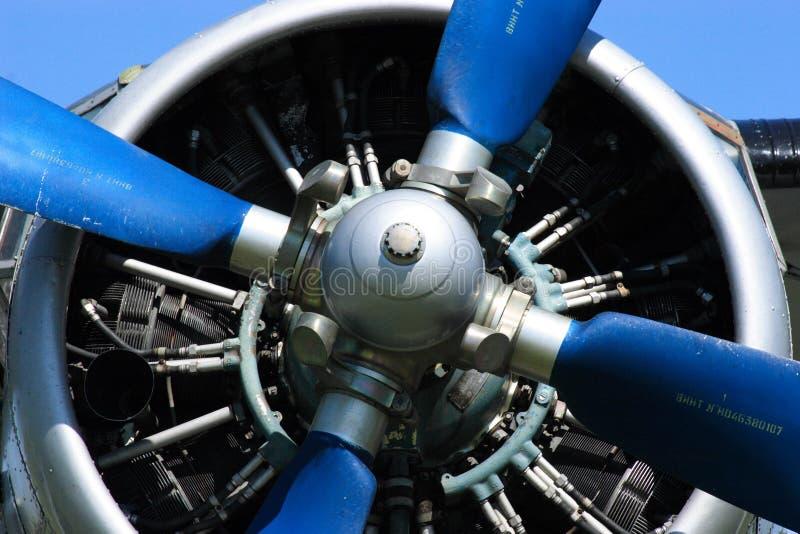 Vliegtuig Antonov 2 stock afbeelding