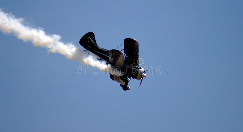 Vliegtuig I van Aerobatic stock foto's