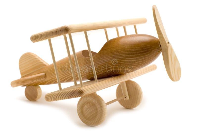 Vliegtuig op wit stock foto's