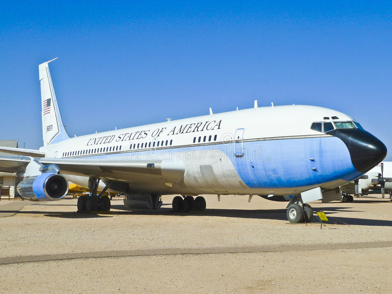 Vliegtuigen in de Lucht Pima en de ruimte royalty-vrije stock afbeeldingen