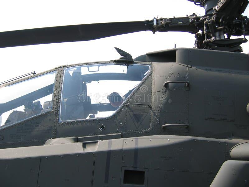 Vliegtuigen - Militaire helikopter royalty-vrije stock foto's