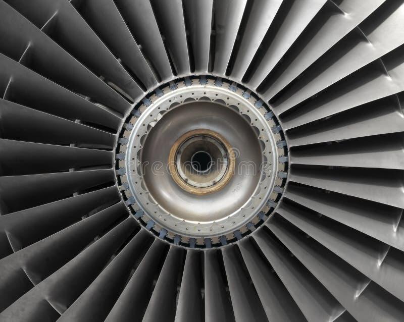 Vliegtuigenmotor stock foto's