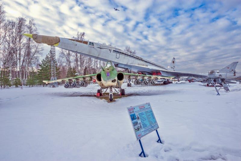 Vliegtuigenmuseum royalty-vrije stock foto
