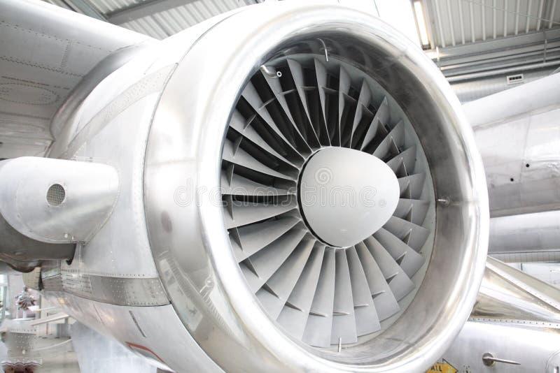 Vliegtuigenturbine royalty-vrije stock foto's