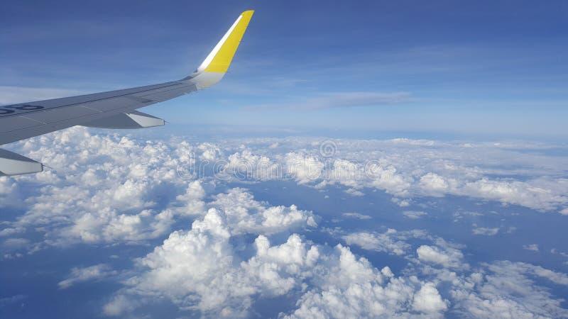 Vliegtuigstaart royalty-vrije stock foto's