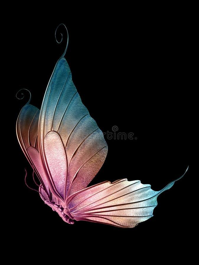 Vlinder 1 van 3 royalty-vrije illustratie